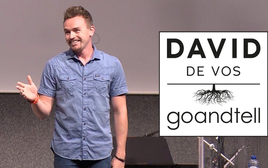 Preek van David de Vos – Nu het nog kan